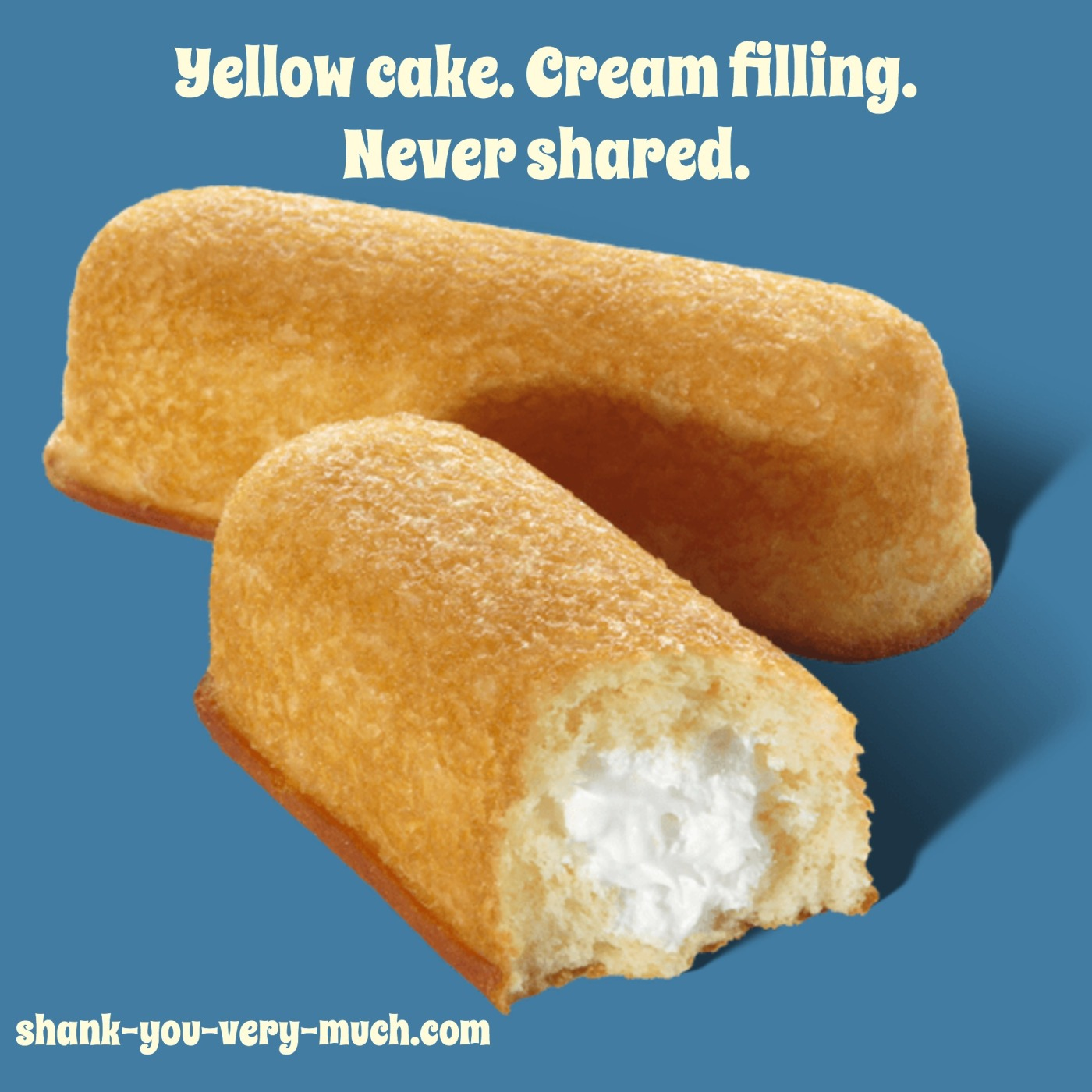 a picture of Twinkies with the caption