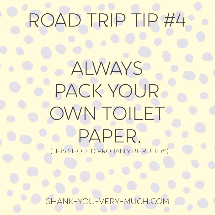 Road Trip Tip #4