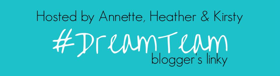 """A text box that says """"Dream Team"""""""